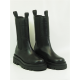 wallaby mini metallic boots fourrés laine noir