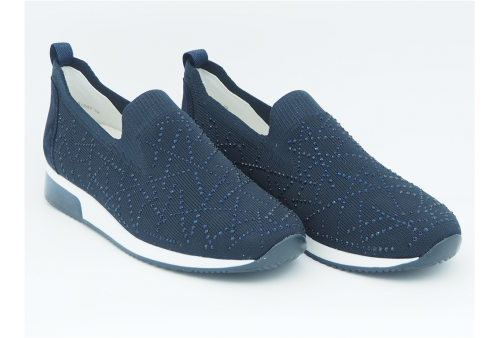 gel-contend 6 sy running lacets homme bleu