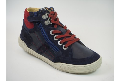 game sud tennis basses velours lacets femme navy