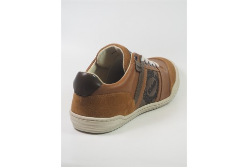 cypress suede leather tennis lacet homme navy moka
